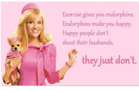 elle woods endorphins